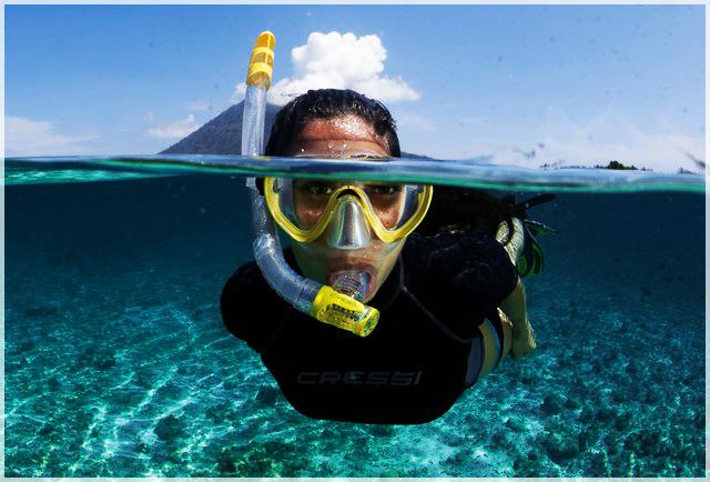 ako šnorchlovať ? ako dýchať pod hladinou ?