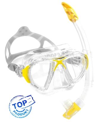 Cressi Nano je špičkový set vhodný na šnorchlovanie, potápanie a freediving. Limitovaná edícia.