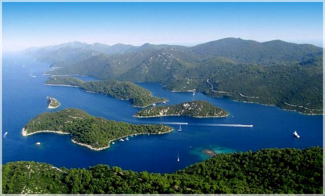 ostrov Mljet, krásne destinácie v Chorvátsku