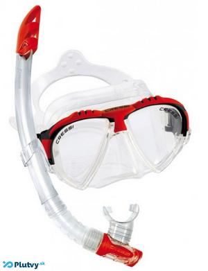 Maska a šnorchel s ktorými si šnorchlovanie v Mexiku užijete.