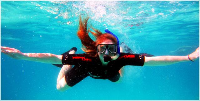 výbava na šnorchlovanie