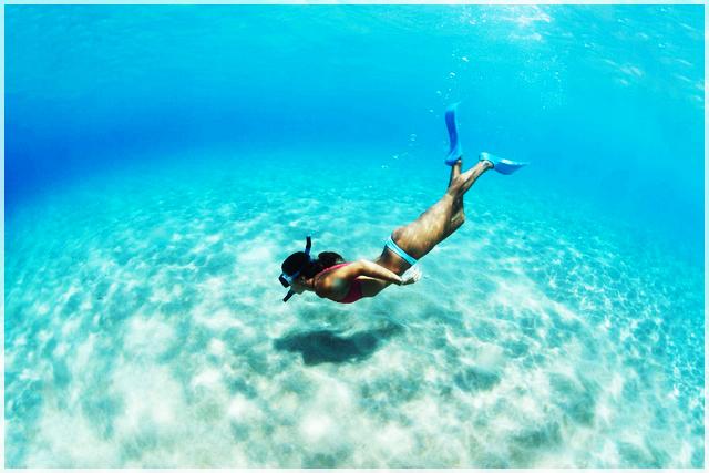 praktické rady ako šnorchlovať